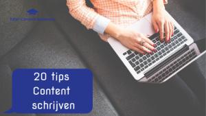 20 tips Content Schrijven