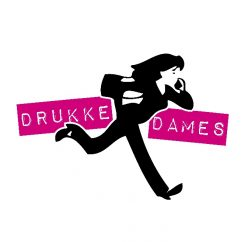 Drukke dames logo