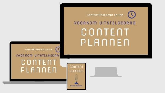 Content plannen Workshop